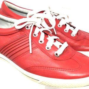 ECCO Women's Golf Shoes Sneakers EU 40 US Red